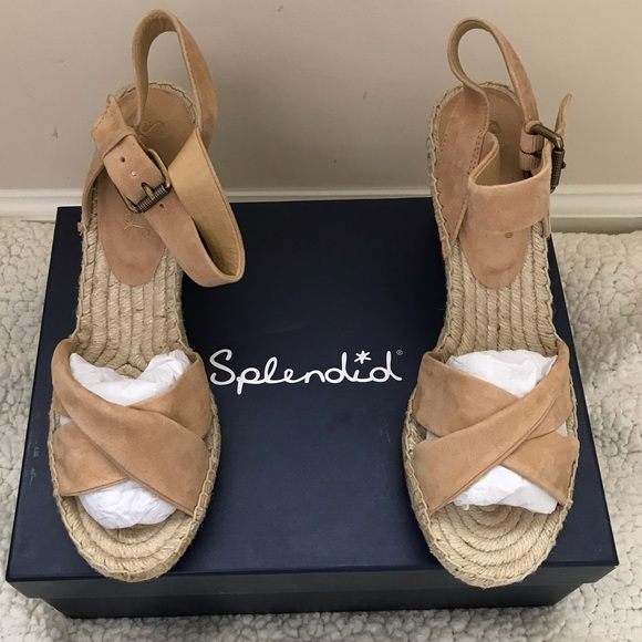 a08259f77b0 Splendid Fairfax Espadrille Wedge Sandal NWT